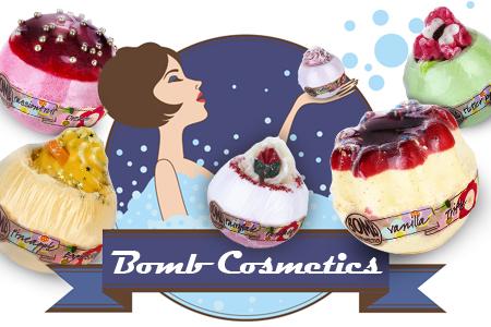 Rozkoszuj się kąpielą z aromatycznymi kosmetykami Bomb Cosmetics! Niedrogo...