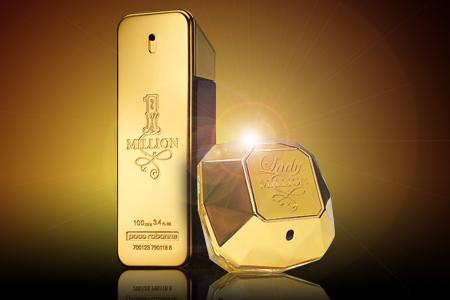 Złoty Paco Rabanne Lady Million dla kobiet - prezent idealny